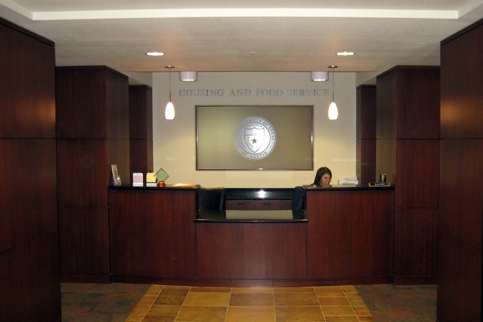 UT Lobby Reception Area