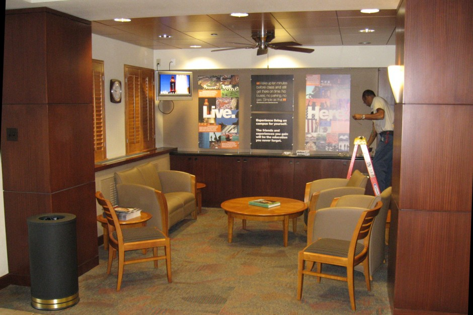 UT Lobby Waiting Area