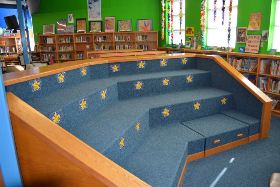 Shelving Story Area