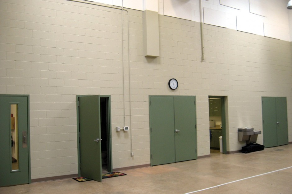 Inside Gymnasium